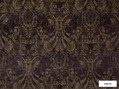 Ardecora - Novecento - 15383.196    Upholstery Fabric - Brown, Black - Charcoal, Damask, Fibre Blends, Pink, Purple, Traditional, Domestic Use, Standard Width, Rococo