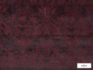 Ardecora - Novecento - 15383.387  | Upholstery Fabric - Red, Traditional, Damask, Rococo, Fibre Blend, Standard Width