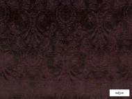 Ardecora - Novecento - 15383.487  | Upholstery Fabric - Burgundy, Traditional, Damask, Rococo, Fibre Blend, Standard Width