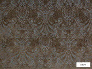 Ardecora - Novecento - 15383.586  | Upholstery Fabric - Grey, Damask, Fibre Blends, Traditional, Domestic Use, Standard Width, Rococo