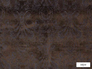 Ardecora - Novecento - 15383.588  | Upholstery Fabric - Brown, Traditional, Damask, Rococo, Fibre Blend, Standard Width
