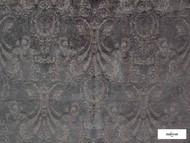 Ardecora - Novecento - 15383.857  | Upholstery Fabric - Grey, Damask, Fibre Blends, Traditional, Domestic Use, Standard Width, Rococo