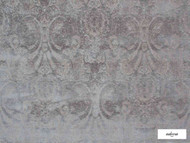 Ardecora - Novecento - 15383.864  | Upholstery Fabric - Grey, Damask, Fibre Blends, Traditional, Domestic Use, Standard Width, Rococo