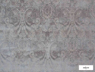 Ardecora - Novecento - 15383.864  | Upholstery Fabric - Grey, Traditional, Damask, Rococo, Fibre Blend, Standard Width