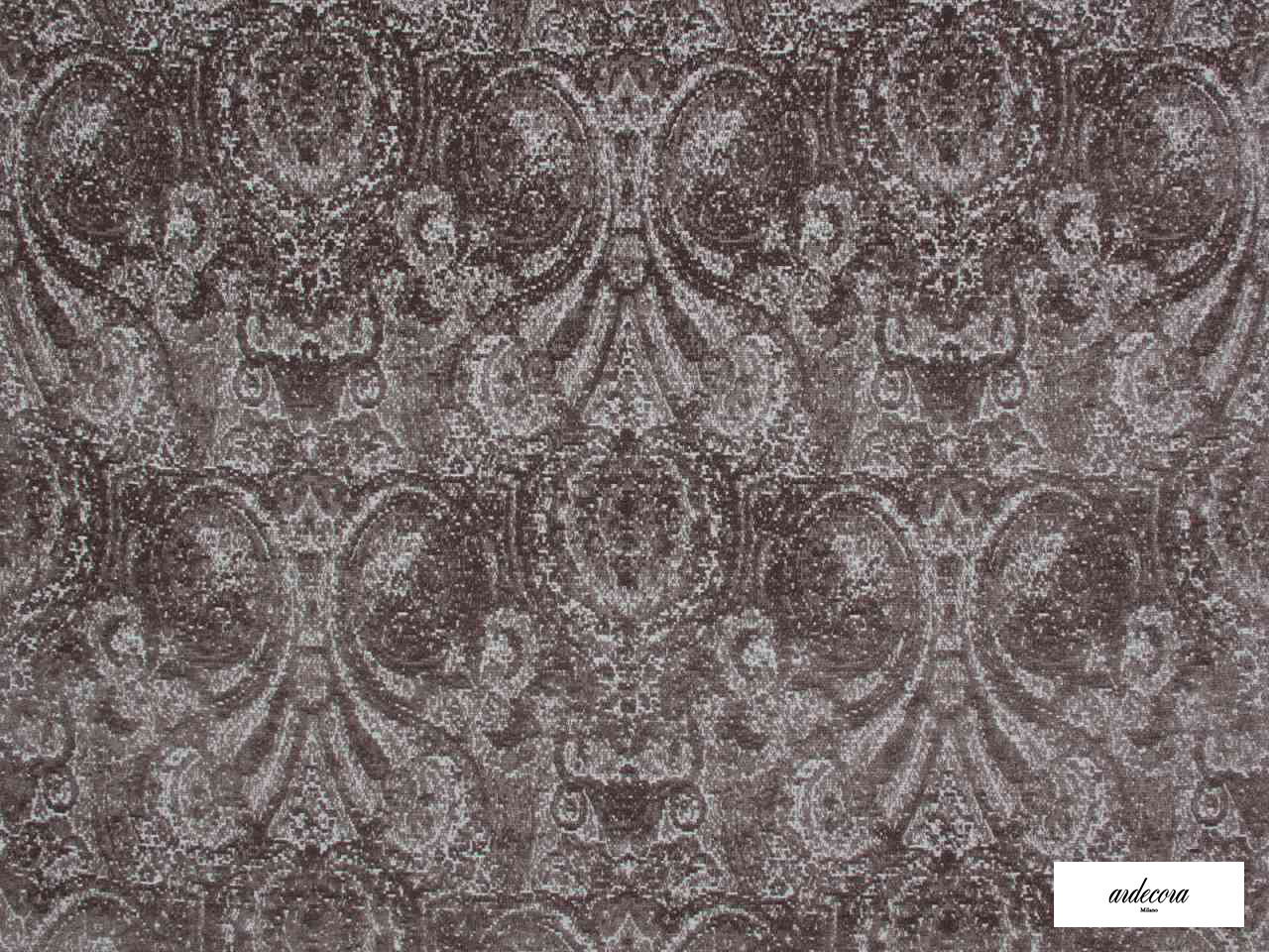 Ardecora - Novecento - 15383.997  | Upholstery Fabric - Brown, Damask, Fibre Blends, Traditional, Domestic Use, Standard Width, Rococo