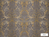 Ardecora - Olmetto - 15379.925  | Curtain Fabric - Gold,  Yellow, Damask, Synthetic, Traditional, Domestic Use, Standard Width, Rococo