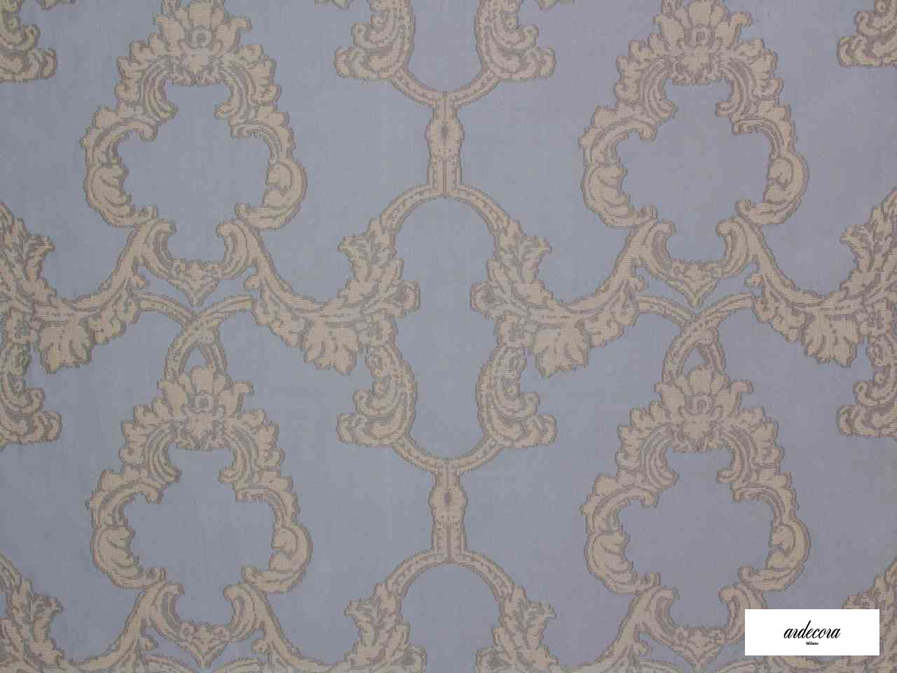 Ardecora - Porta Romana - 15373.986  | Curtain Fabric - Burgundy, Damask, Synthetic, Traditional, Domestic Use, Wide Width, Rococo