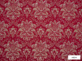 Ardecora - San Babila - 15378.386  | Curtain Fabric - Red, Damask, Foulard, Synthetic, Traditional, Domestic Use, Standard Width, Rococo