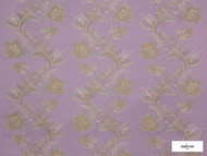 Ardecora - Santa Lucia - 15387.495  | Curtain Fabric - Fibre Blends, Floral, Garden, Foulard, Pink, Purple, Domestic Use, Standard Width
