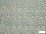 Hodsoll McKenzie - Fleming Damask - 21125.595  | Curtain Fabric - Green, Traditional, Damask, Rococo, Fibre Blend, Standard Width