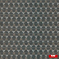 Ado - Mosaik - 1514-795  | Upholstery Fabric - Black, Charcoal, Brown, Grey, Diamond, Harlequin, Geometric, Honeycomb, Triangles, Standard Width