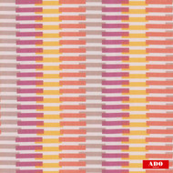 Ado - Vista - 8109-543  | Curtain Fabric - Gold,  Yellow, Contemporary, Pink, Purple, Stripe, Synthetic, Domestic Use, Railroaded, Wide Width
