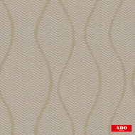 Ado - Zig Zag - 1649-335  | Curtain Fabric - Brown, Ogee, Synthetic, Chevron, Zig Zag, Domestic Use, Railroaded, Wide Width