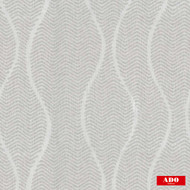 Ado - Zig Zag - 1649-994  | Curtain Fabric - Grey, White, Ogee, Synthetic, Chevron, Zig Zag, Domestic Use, White, Railroaded, Wide Width