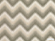 Romo - Nesma Soapstone  | Curtain & Upholstery fabric - Grey, Dry Clean, Chevron, Zig Zag, Decorative, Flame Stitch, Herringbone, Fibre Blend
