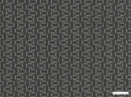 Mark Alexander - Salient Anthracite  | Upholstery Fabric - Black - Charcoal, Geometric, Natural Fibre, Small Scale, Velvet/Faux Velvet, Commercial Use, Diamond - Harlequin