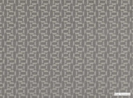 Mark Alexander - Salient Pewter  | Upholstery Fabric - Brown, Geometric, Natural Fibre, Small Scale, Velvet/Faux Velvet, Commercial Use, Diamond - Harlequin, Dry Clean