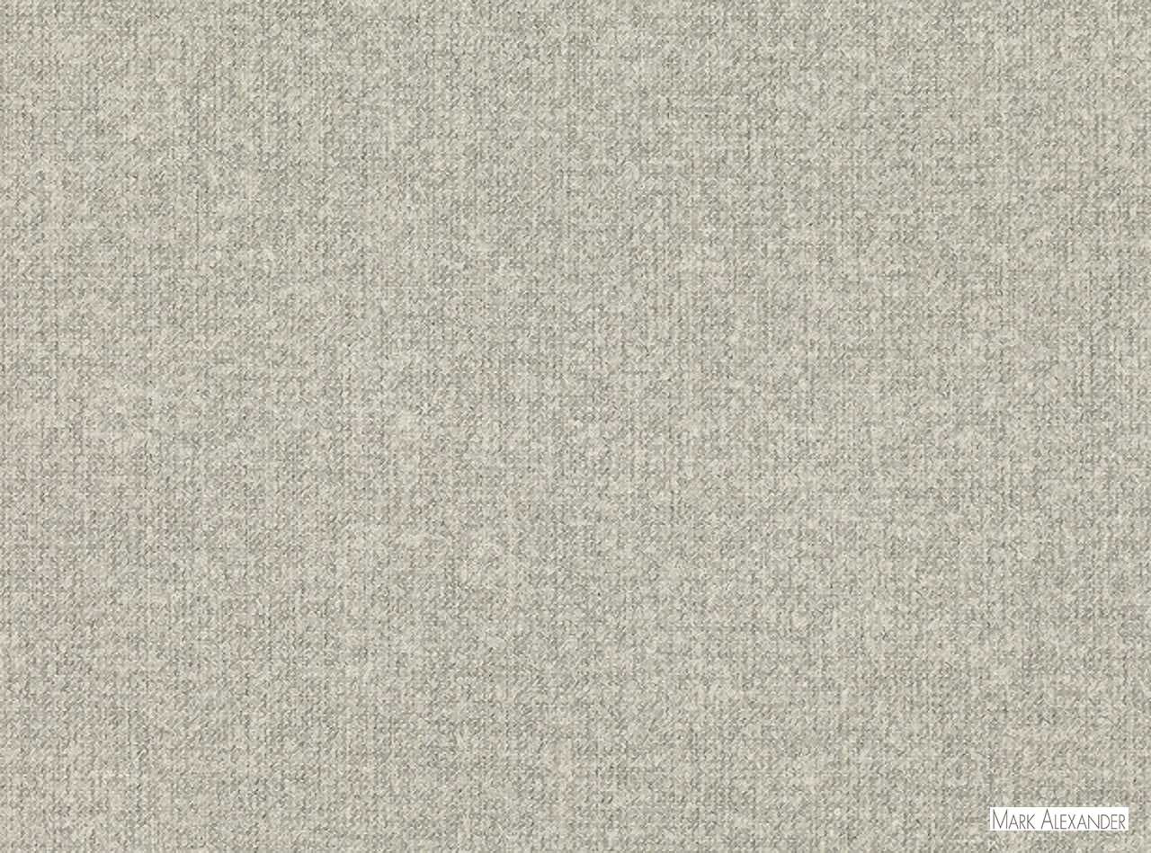 Mark Alexander - Andante Grey Mist  | Curtain & Upholstery fabric - Grey, Natural Fibre, Domestic Use, Dry Clean, Natural, Semi-Plain, Standard Width