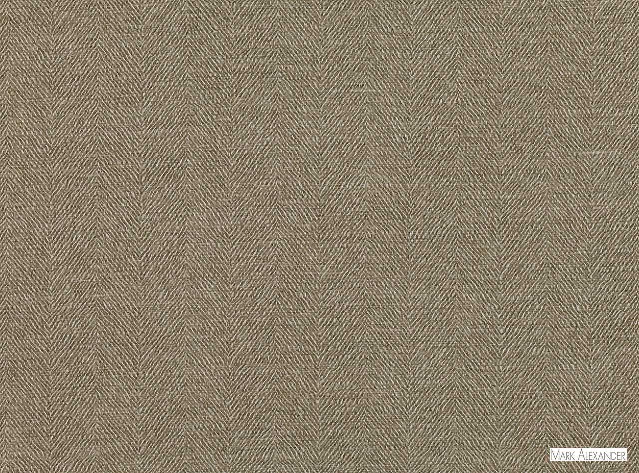 Mark Alexander - Sauvage Wilderness  | Curtain & Upholstery fabric - Brown, Deco, Decorative, Natural Fibre, Commercial Use, Decorative Weave, Dry Clean, Herringbone