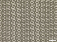 Mark Alexander - Salient Bronze  | Upholstery Fabric - Beige, Brown, Geometric, Natural Fibre, Small Scale, Velvet/Faux Velvet, Commercial Use, Diamond - Harlequin, Natural