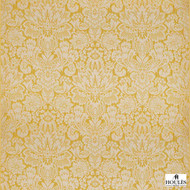 Houles - 72786 Giotto 140 Jacquard - 9200  | Curtain Fabric - Gold, Yellow, Damask, Natural, Natural Fibre, Standard Width