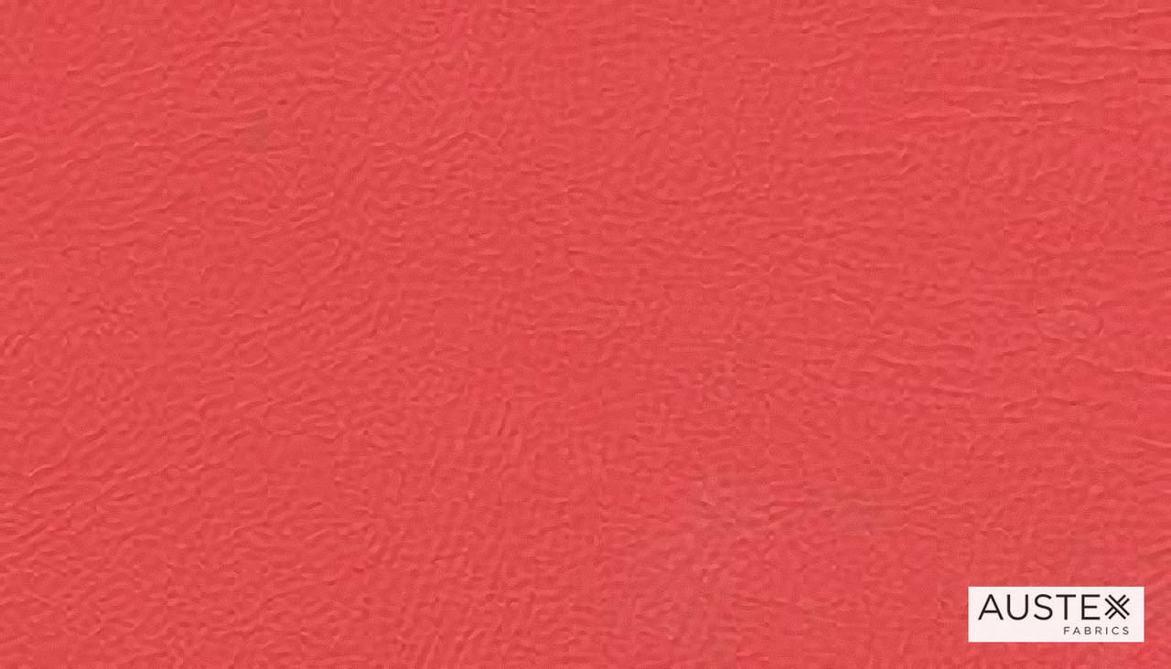 Austex Studio Encore Flame  | Upholstery Fabric - Plain, Red, Contemporary, Synthetic, Commercial Use, Standard Width
