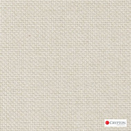 Crypton Sutton French Vanilla  | Upholstery Fabric - Beige, Plain, Linen and Linen Look, Synthetic, Commercial Use, Standard Width