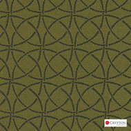 Crypton Trivia Oregano  | Upholstery Fabric - Asian, Circlelink, Midcentury, Synthetic, Chinoise, Commercial Use, Standard Width