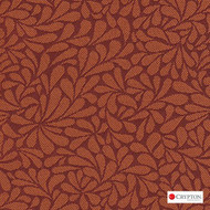 Crypton Twirl Daylily  | Upholstery Fabric - Craftsman, Floral, Garden, Pattern, Synthetic, Commercial Use, Standard Width