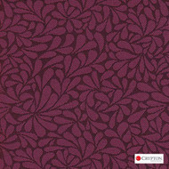 Crypton Twirl Passion  | Upholstery Fabric - Red, Craftsman, Floral, Garden, Pattern, Synthetic, Commercial Use, Standard Width