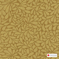 Crypton Twirl Sun  | Upholstery Fabric - Gold,  Yellow, Craftsman, Floral, Garden, Pattern, Synthetic, Commercial Use, Standard Width