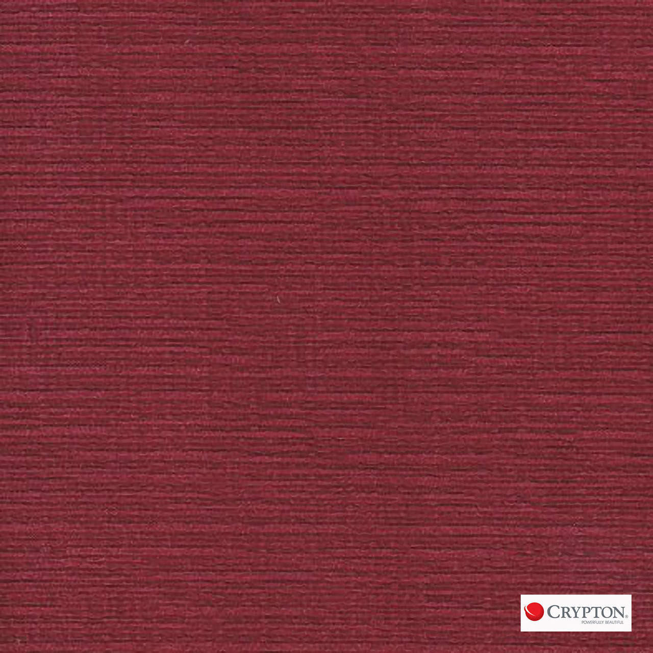 Crypton Veldt Shiraz  | Upholstery Fabric - Burgundy, Plain, Synthetic, Commercial Use, Standard Width