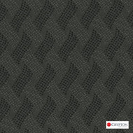 Crypton Cruise Carbon  | Upholstery Fabric - Basketweave, Black - Charcoal, Midcentury, Synthetic, Commercial Use, Standard Width