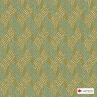 Crypton Cruise Cress  | Upholstery Fabric - Basketweave, Midcentury, Synthetic, Commercial Use, Standard Width