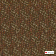 Crypton Cruise Nutmeg  | Upholstery Fabric - Brown, Basketweave, Midcentury, Synthetic, Commercial Use, Standard Width