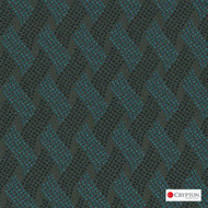 Crypton Cruise Sterling  | Upholstery Fabric - Blue, Basketweave, Midcentury, Synthetic, Commercial Use, Standard Width