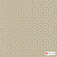 Crypton Dew Taupe  | Upholstery Fabric - Diaper, Foulard, Linen and Linen Look, Midcentury, Small Scale, Synthetic, Tan, Taupe, Commercial Use, Standard Width