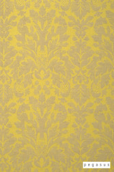 Pegasus Castello - Citron  | Curtain Fabric - Fire Retardant, Gold,  Yellow, Damask, Deco, Decorative, Fibre Blends, Traditional, Commercial Use, Domestic Use, Dry Clean
