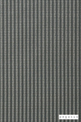 Pegasus Trace - Glade  | Curtain Fabric - Grey, Natural Fibre, Stripe, Traditional, Washable, Domestic Use, Dry Clean, Natural, Top of Bed, Standard Width