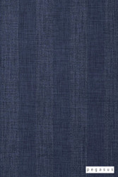Pegasus Tasman UC - Denim  | Curtain Fabric - Blue, Fire Retardant, Fibre Blends, Stripe, Traditional, Washable, Domestic Use, Dry Clean, Standard Width