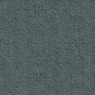 Willbro Italy Lalique Iron  | Upholstery Fabric - Grey, Damask, Natural Fibre, Traditional, Domestic Use, Matelasse, Natural, Quilted, Standard Width