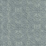 Willbro Italy Lalique Slate  | Upholstery Fabric - Grey, Damask, Natural Fibre, Traditional, Domestic Use, Matelasse, Natural, Quilted, Standard Width