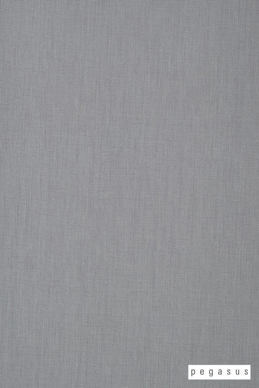 Pegasus Palazzo - Ash  | Curtain Fabric - Fire Retardant, Plain, Silver, Fibre Blends, Washable, Commercial Use, Domestic Use, Dry Clean, Standard Width