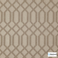 Fibreguard - Sarasota Greige  | Upholstery Fabric - Brown, Fire Retardant, Midcentury, Synthetic, Chenille, Commercial Use, Domestic Use, Lattice, Trellis, Standard Width