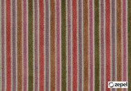 Zepel Fabrics - Lucia Amber  | Curtain & Upholstery fabric - Multi-Coloured, Stripe, Synthetic, Commercial Use, Domestic Use, Jacquards, Oeko-Tex,  Railroaded