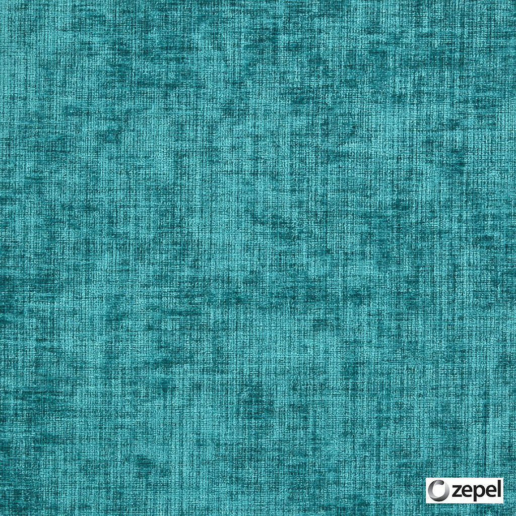 Zepel Fabrics - Quantum Teal  | Upholstery Fabric - Blue, Plain, Synthetic, Turquoise, Teal, Commercial Use, Oeko-Tex,  Standard Width
