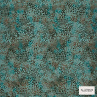 Casamance Fabrics & Wallpapers - Beaubourg Art Deco Wallpaper 7014 7014 04 55  | Wallpaper, Wallcovering - Blue, Fibre Blends, Geometric, Abstract, Commercial Use, Oeko-Tex
