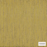 Casamance Fabrics & Wallpapers - Bel Air Ecorce Wallpaper 7015 7015 06 13  | Wallpaper, Wallcovering - Gold,  Yellow, Fibre Blends, Stripe, Commercial Use, Oeko-Tex