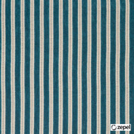 Zepel Fabrics - Links Aqua  | Upholstery Fabric - Stripe, Synthetic, Commercial Use, Domestic Use, Oeko-Tex,  Standard Width