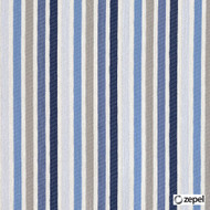 Zepel Fabrics - Brighton Wedgewood  | Curtain & Upholstery fabric - Blue, Fibre Blends, Stripe, Commercial Use, Domestic Use, Oeko-Tex,  Railroaded, Standard Width